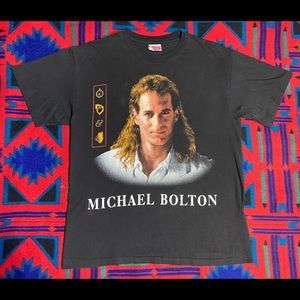 Vintage 1992 Michael Bolton Single Stitch band tee